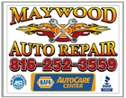Maywood Auto Repair – Independence Missouri Auto Repair